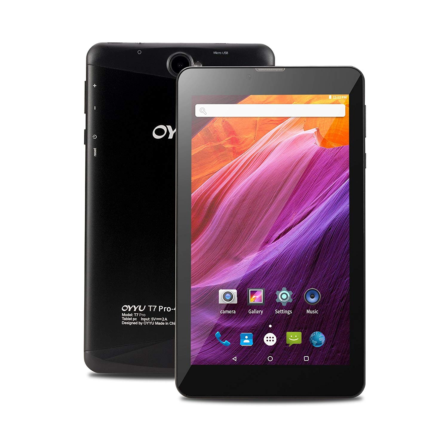 2018 OYYU T7 Pro 7 Inch 4G LTE Phablet - Best Reviews Tablet